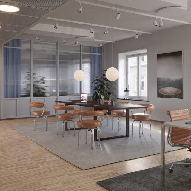 Kungsgatan 57 interiör kontor