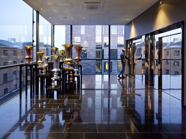 Clarion hotel post interiör hiss