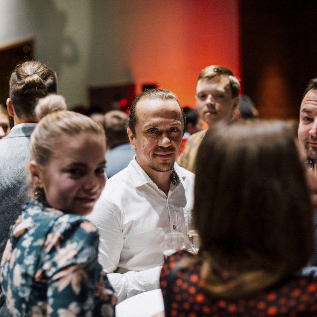 Medarbetare på Semrén & Månssons jubileumsfest