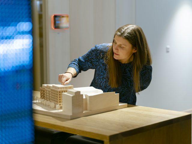 Johanna Vestlin, inredningsarkitekt på Semrén & Månsson i Göteborg