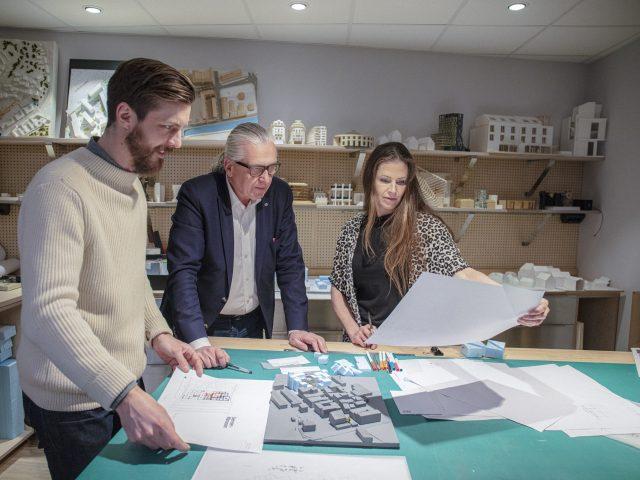 Magnus, Jens och Hanna - arkitekter på Semrén & Månsson