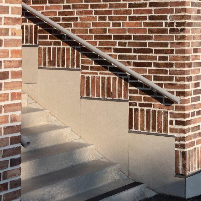 Önneredsbodarna tegeldetalj trappa